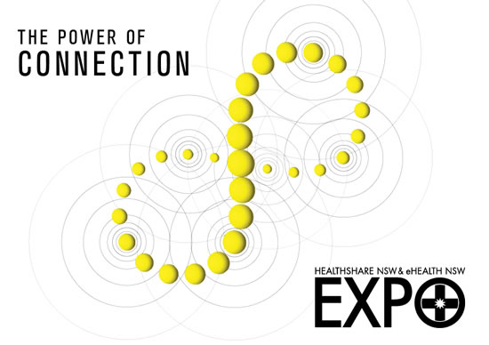expo theme - the power of connectivity - image showing interconnecting spheres